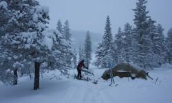 Lavvologen - Skrim. Vesle Stølevann januar 2010