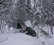 Lavvologen - skitur fra Varingskollen til Movatn