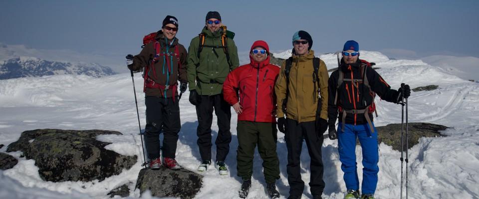 Den Norske Lavvologe - Topptur til Rasletind, mars 2014, Den Norske Lavvologe - Topptur til Rasletind, mars 2014